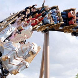 Pegasus-Achterbahn im Europa-Park