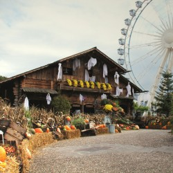 halloween parc attraction