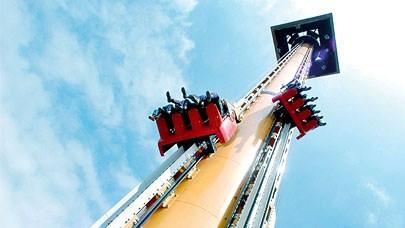 Port aventura hurakan les parcs d 39 attractions - Barcelone parc d attraction port aventura ...