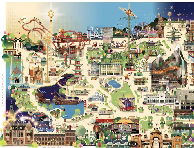 Tivoli garden plan les parcs d 39 attractions for Camping le jardin de tivoli