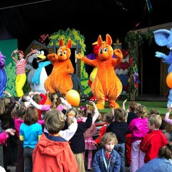 walibi sud ouest personnages